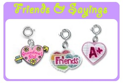 Friends & Sayings Charms