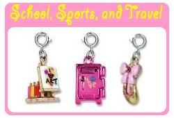 School, Sports & Travel Charms