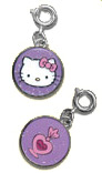 Hello Kitty Perfume Tag Charm