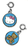 Hello Kitty Teddy Tag Charm