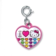 Charm It! I Love Hello Kitty Heart Charm