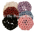 Rhinestone Hair Bun Cover